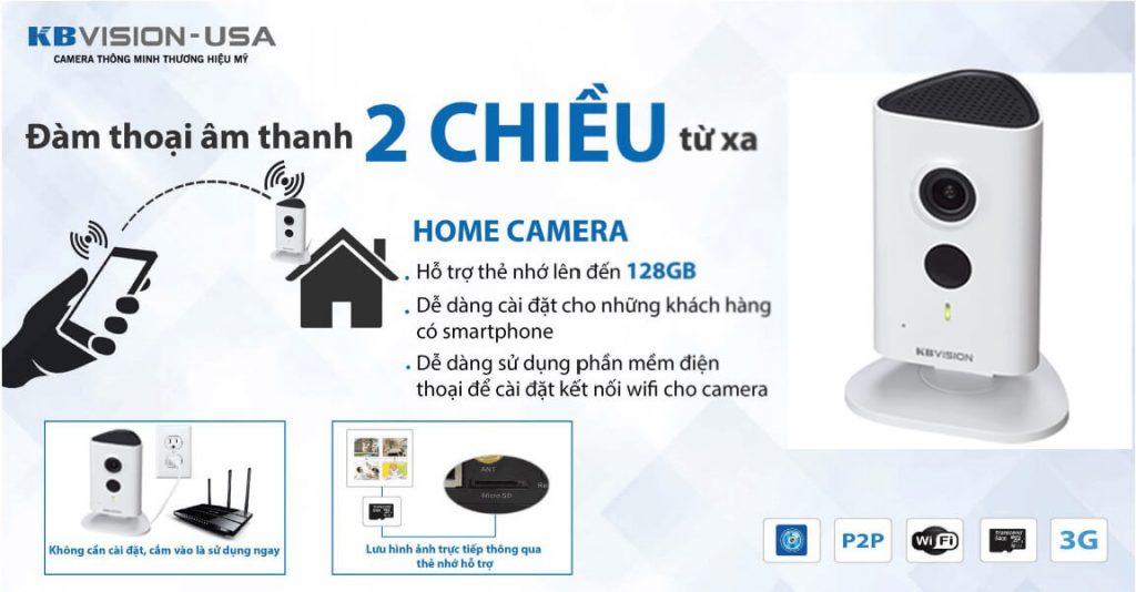 Camera IP KBVISION USA